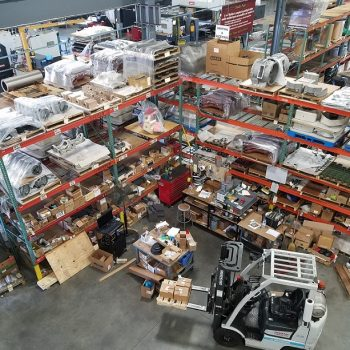 Messy Warehouse in need of Organization