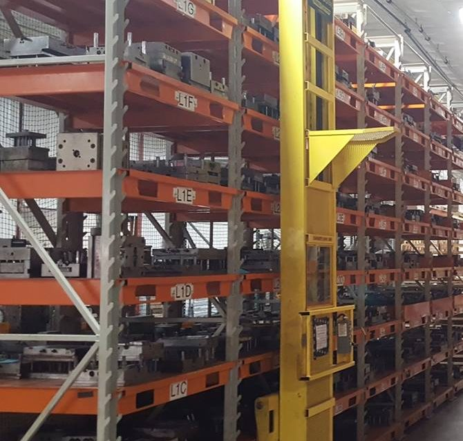 Used Stak System Adjustable Racking