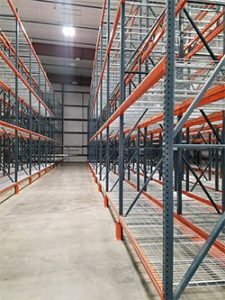 Selective Row Pallet Racking Double Deep Warehouse Storage