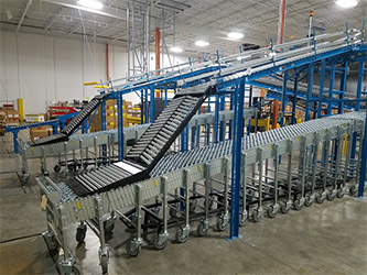 NestFlex Extendable Truck Loading Conveyor