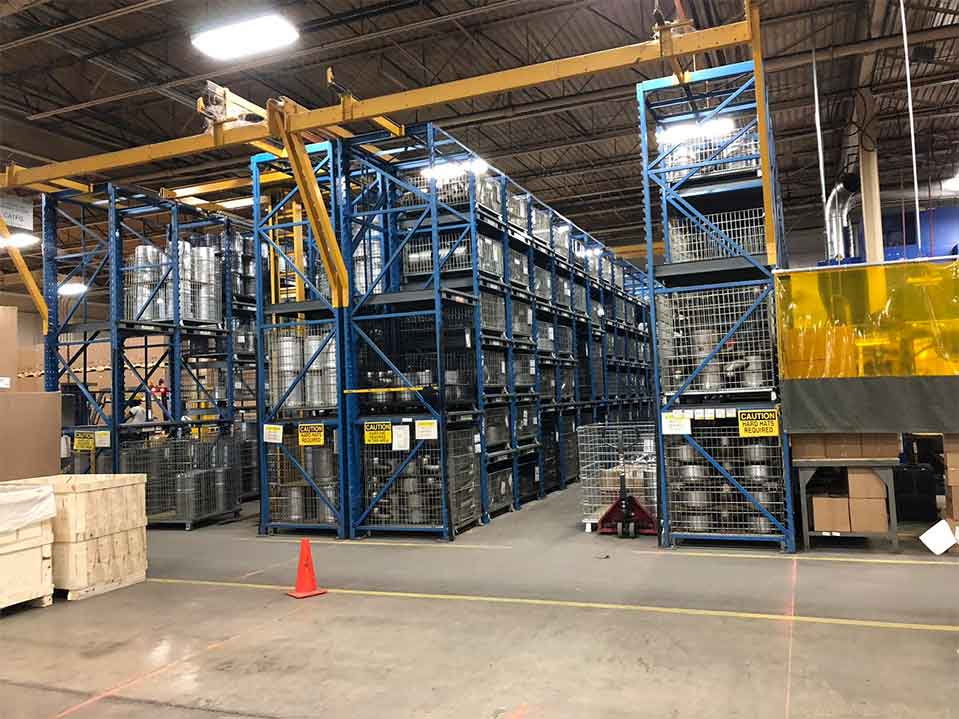 STAK System Warehouse Pallet Racking Storage