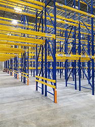 Phase 1 Selective Row Tunnel Bay Aisle Warehouse Racking Storage