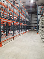Selective Row Pallet Racking Warehouse Storage