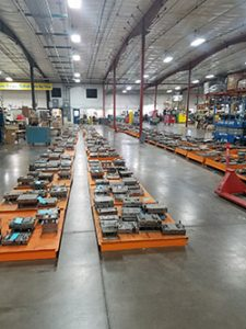 STAK System Warehouse Pallets with Product
