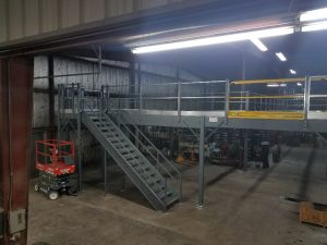 Garage Workshop Mezzanine Stairs