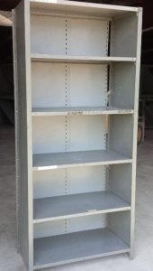 single used shelving unit