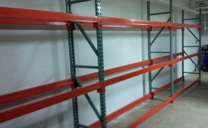 Auto Parts Store - Tire Storage Rack System