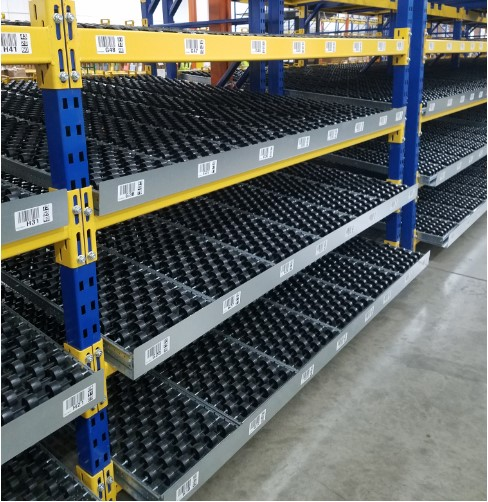 Carton Flow Pallet Rack System
