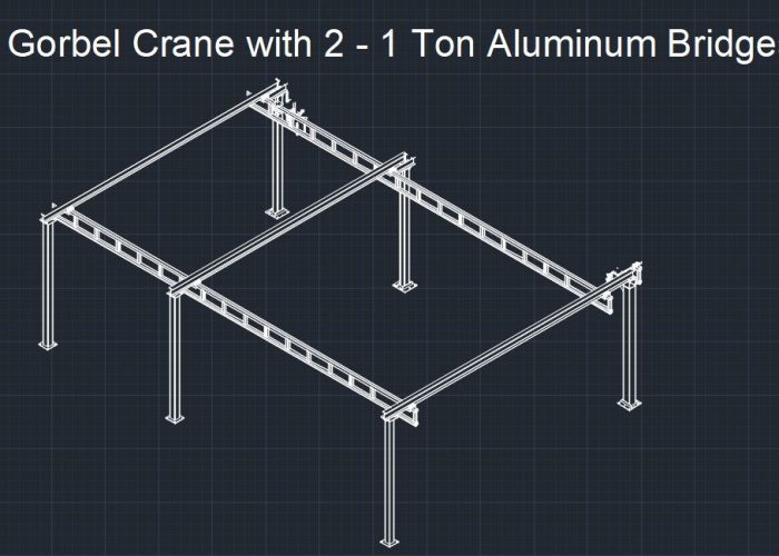 Gorbel Crane Blueprint Design