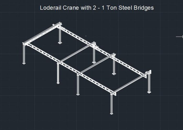 Loderail Crane Blueprint Design