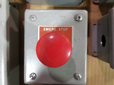 Used Conveyor Emergency Stop Button and Panels