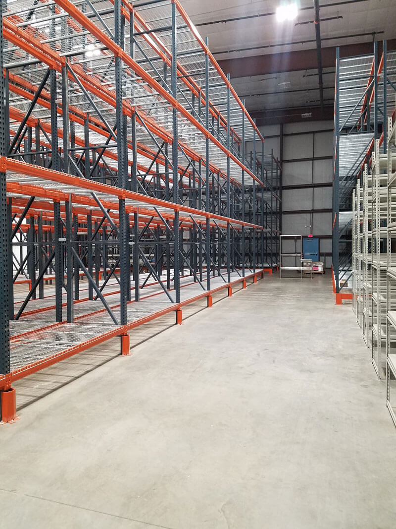 Selective-Row-Pallet-Racking