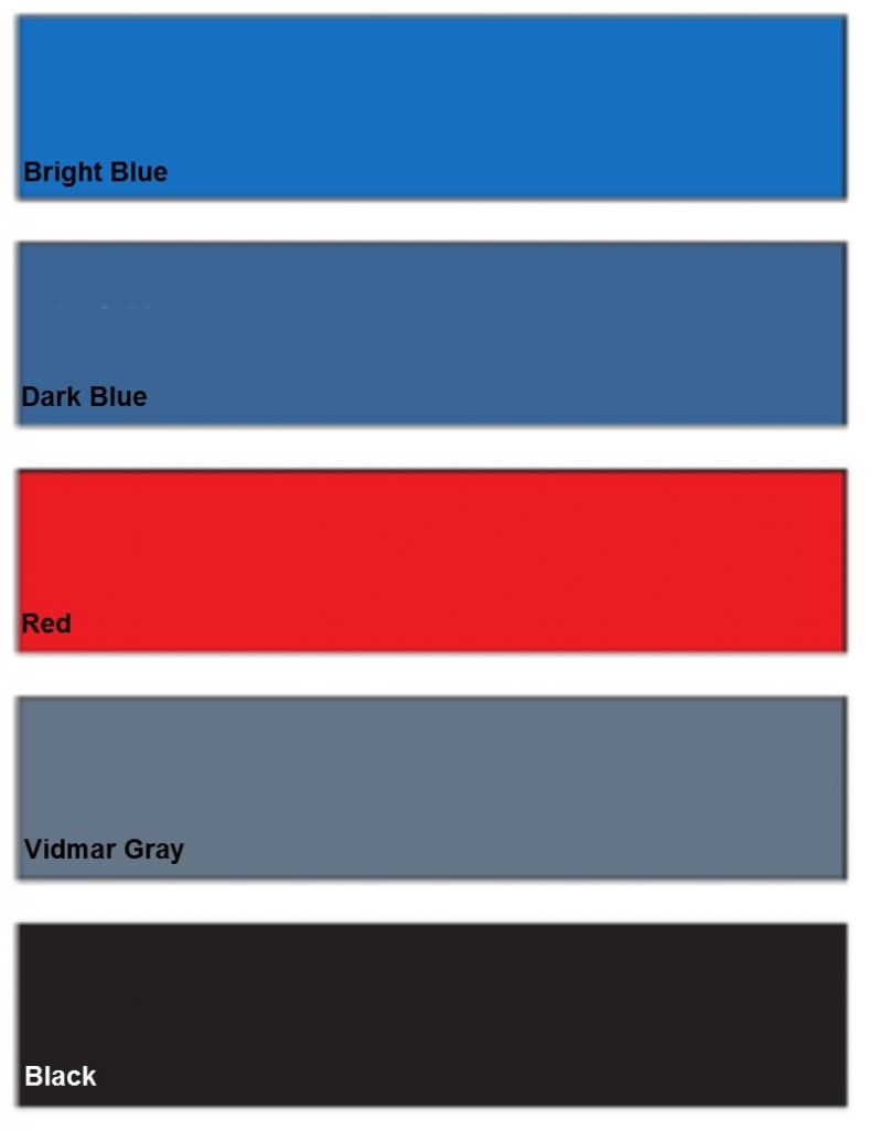 paint-finish-blue-red-gray-black