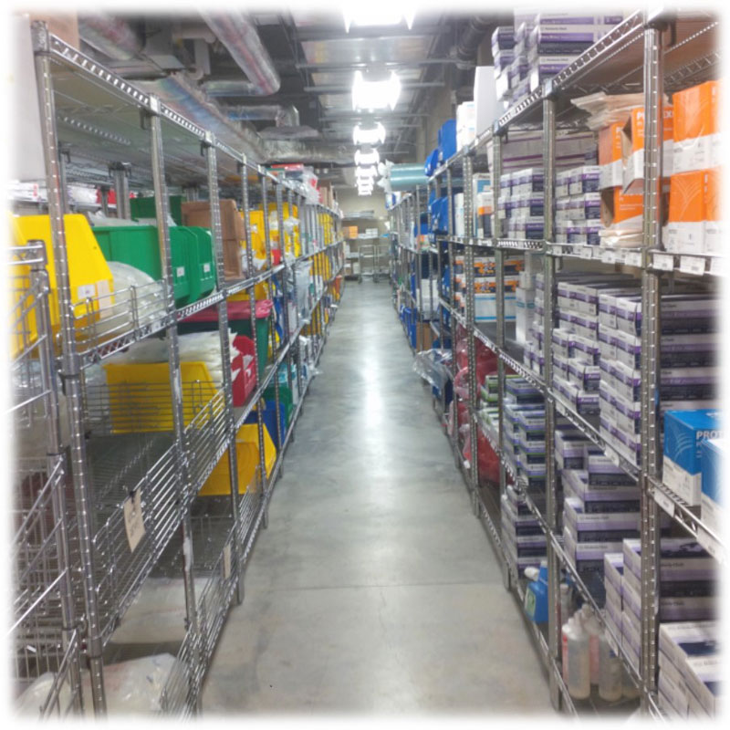 Wire Shelving - Row